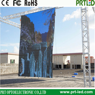 Auto-Folding Advertising LED Display Screen for Event/Stage Background (outdoor indoor P6, P10)
