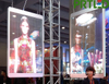 P3.91,P5 Glass LED Wall Transparent LED Screen for Indoor Shop Window / Wall Background