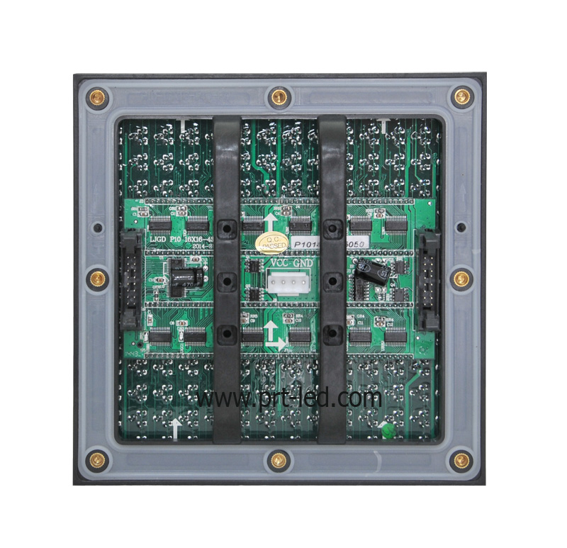 Energy-Saving Outdoor DIP346 Display P10 RGB Module with 4s (3.8V power supply)