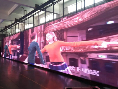 Good Uniformity Indoor LED Video Image Wall (57X576mm cabinet)