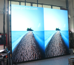 Uhd P1.9 Full Color LED Display with Front Accessed Panel (die-casting aluminum 400X300mm)