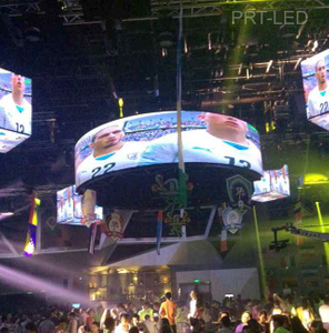 Indoor P3 Full Color Circular/Cylinder LED Display (diameter of 6m/2m)