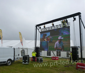 Waterproof Outdoor Rental LED Video Screen of P4 Display Panel