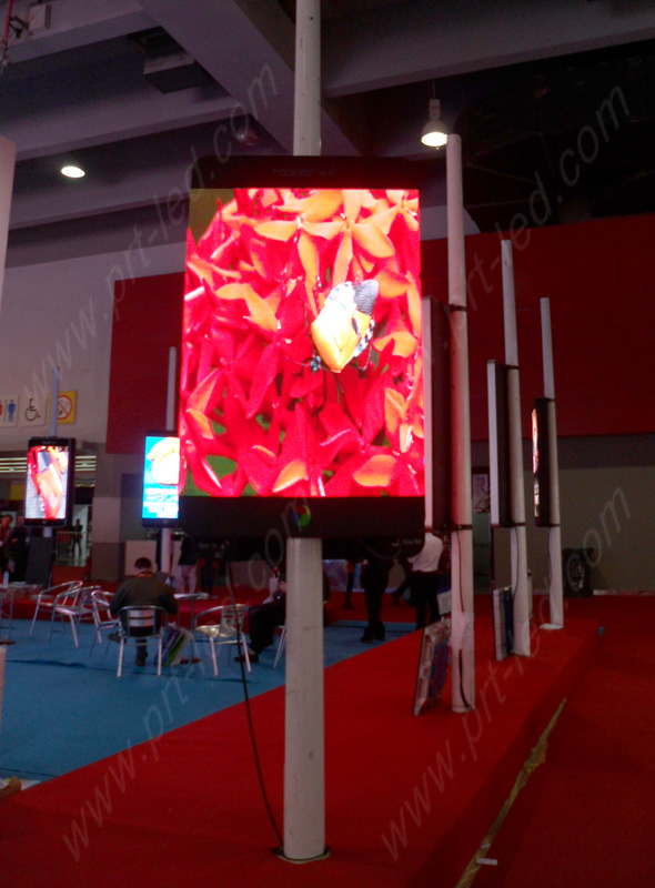 New Design P6 Outdoor LED Display for Standing Poles