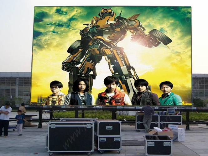 Outdoor P12 Full Color LED Display Screen (DIP346 1R1G1B)