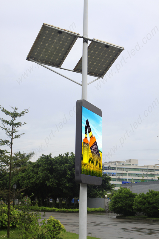Smart Full Color Led Panel Display for Outdoor Roadside Advertising