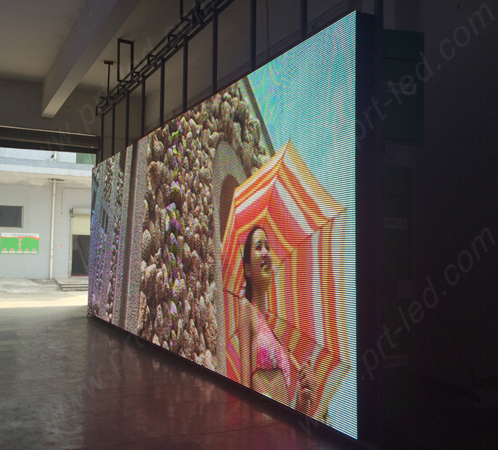 Low Power Full Color LED Video Wall Made with Energy-Saving