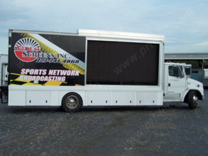 Truck Mounted P16 Full Color Moving LED Billboard