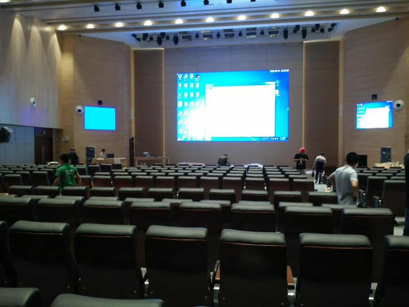 Programmable 4k Video Wall P1 9 LED Display for Studio