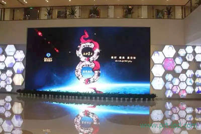 Die-Casting P5.68 Full Color LED Display Panel with Size 500X500mm