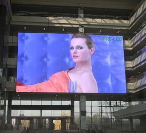 Professional Outdoor Video LED Curtain Display with Pitch 10mm