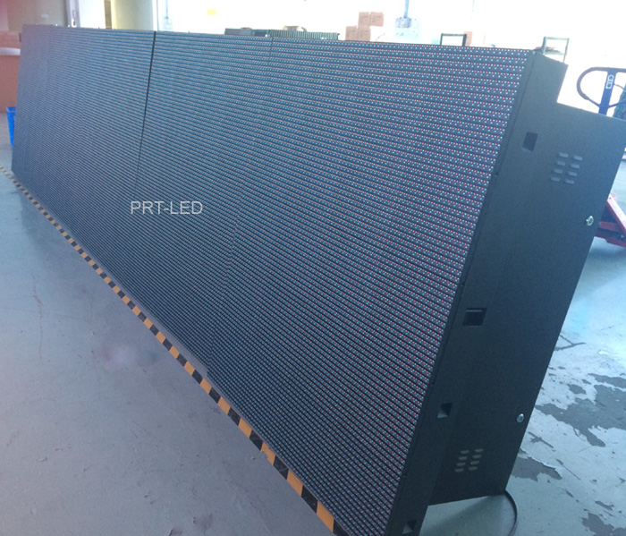 Full Color P12 Outdoor LED Display with 1r1g1b Lamps