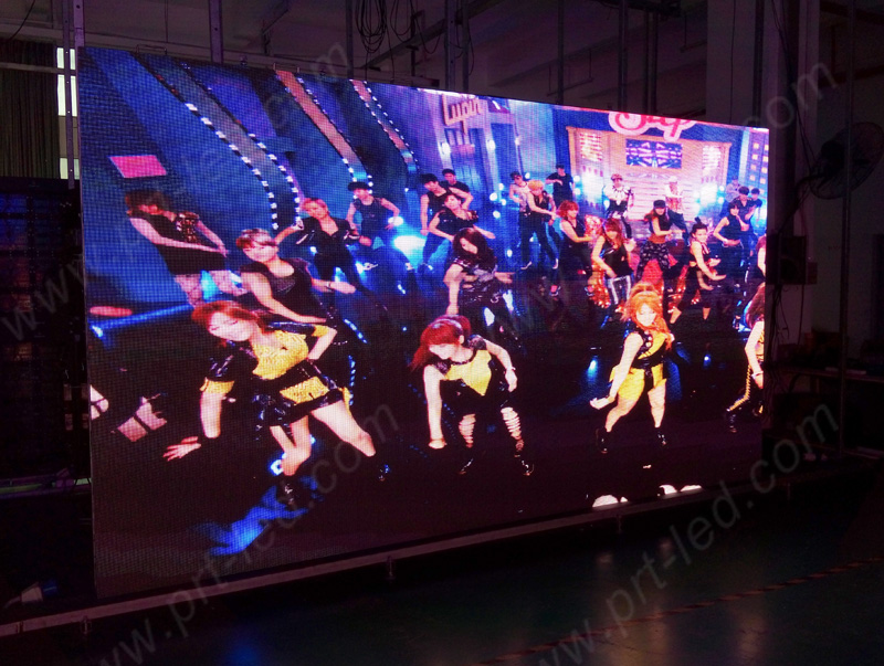 576X576mm Die-Casting Aluminum LED Display Panel for Outdoor Rental (P6)