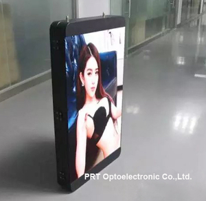 High Brightness P5 Full Color Video Vertical LED Sign Board (640*960mm)