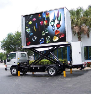 P6 Outdoor Full Color LED Display Screen on Trailer