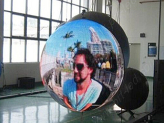 P6 Full Color Sphere LED Display for Decoration/Advertising