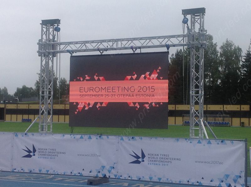 Indoor Outdoor Rental Full Color LED Display/Advertising Screen with 500X1000mm Panel (P3.91, P4.81, P5.95. P6.25)