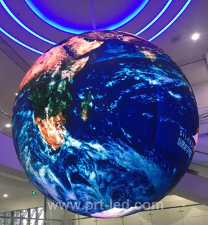 Indoor Full Color Video LED Ball Display with Pixel 4.8mm