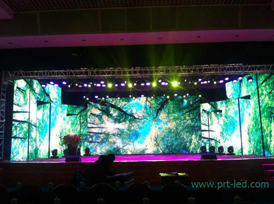 High Resolution P4.8 Indoor Rental LED Display with 576X576mm Panel