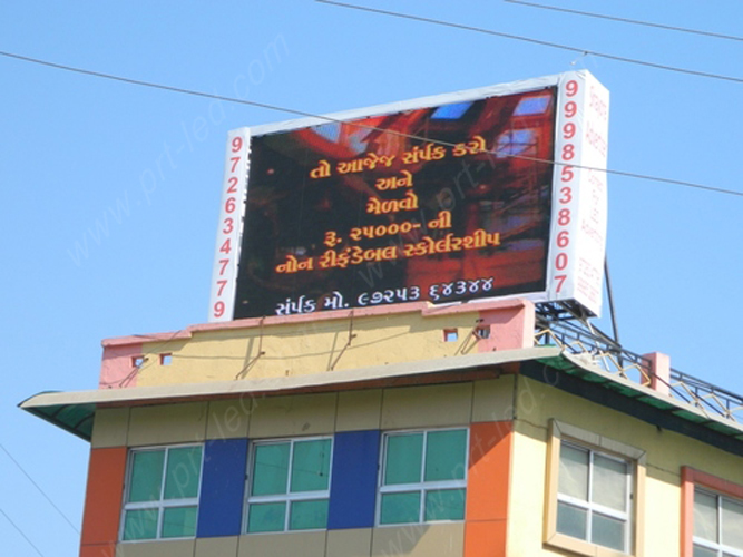 P16mm Full Color LED Display Board for Outdoor Advertising