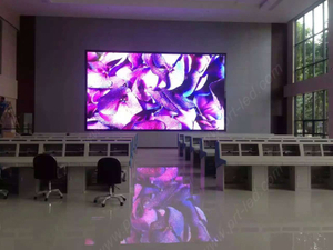 P4 Indoor Full Color LED Video Wall with Front Access by Magnets