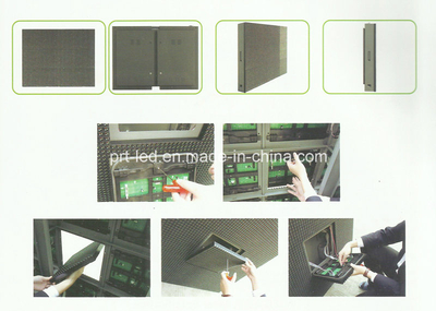 P20 Full Color Outdoor Module LED Front Access