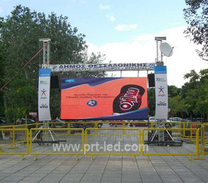 High Resolution Outdoor P5 LED Light Panel with 640*640mm Die-Casting Aluminum