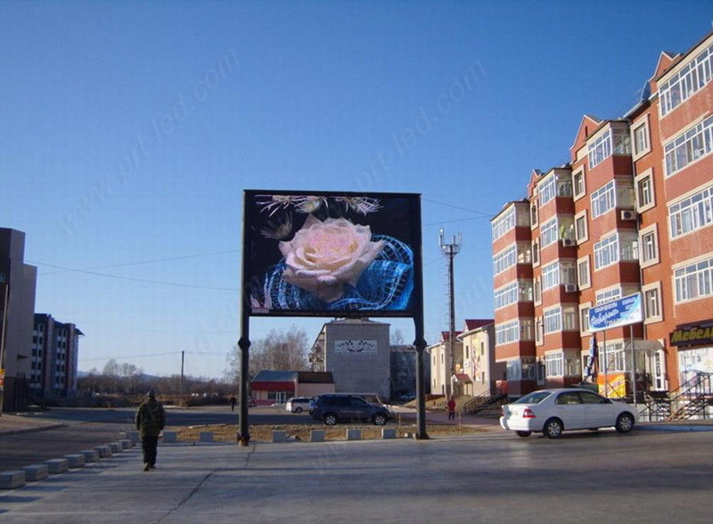 Outdoor Waterproof P8 Full Color LED Video Wall for Advertising