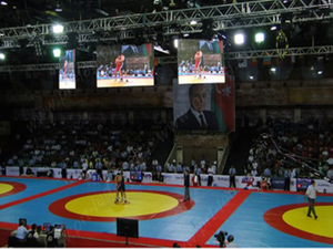 Full Color P6 Indoor Stadium LED Display for Advertising/Scoreboard