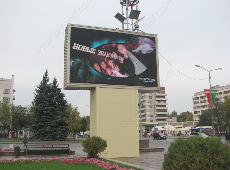 High Brightness Outdoor P6 Full Color LED Board for Advertising