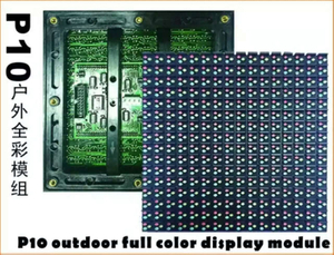 3.8V Eenergy-Saving Full Color Outdoor LED Display Module of P10 DIP346 (160*160mm)