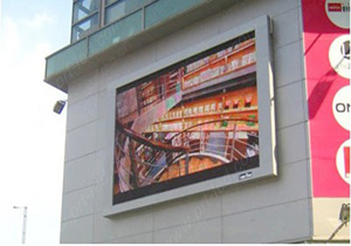 High Brightness P10 Outdoor Advertising LED Display (4X3M, 4X6m, 16X9m)