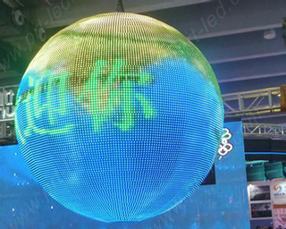 P4.8 Indoor Full Color LED Ball Screen (LED Sphere)
