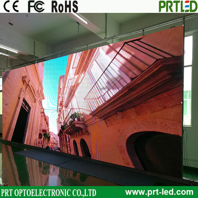 Full Color Outdoor LED Panel 500 X 500 Mm with Front/Rear Service (P3.47, P3.91, P4.81)